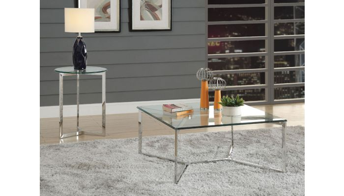 Coomer Square Glass Coffee Table
