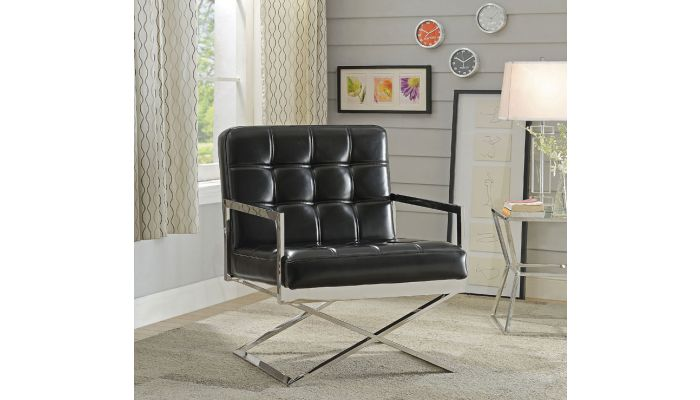 Cordoba Leather Accent Chair