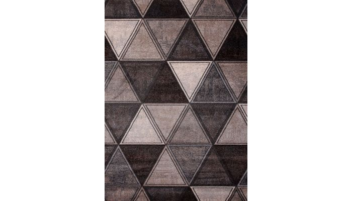 Corolina Abstract Pixel Trellis Rug