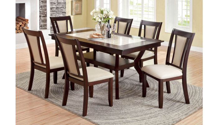 Cotette Contemporary Dining Table Set, Modern Dining Room Table And Chairs Set