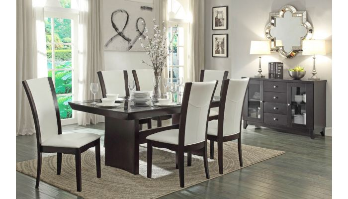 Daisy Contemporary Formal Dining Table Set