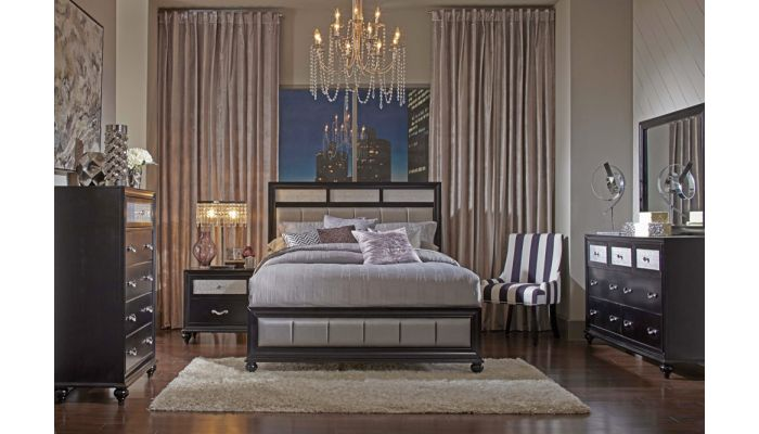 Danielle Black Finish Bedroom Furniture