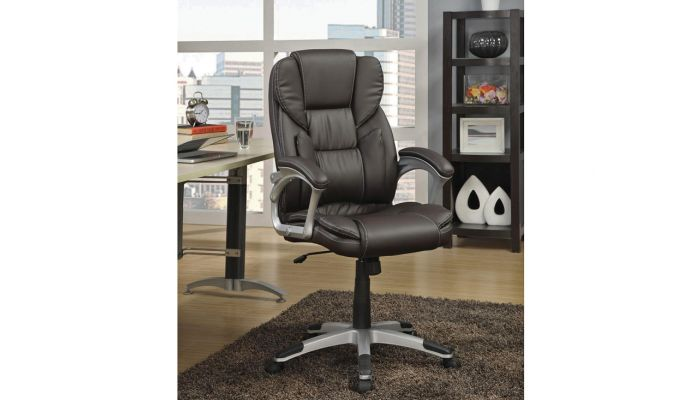 Max Comfort Leather Office Chair