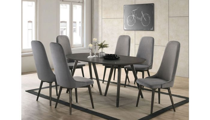 David Mid-Century Modern Dining Table Set
