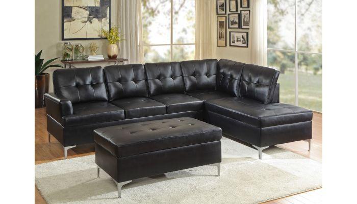 Degah Modern Sectional Sofa Set