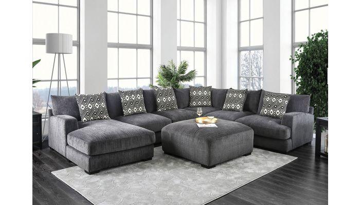 Denice U-Shape Sectional Sofa