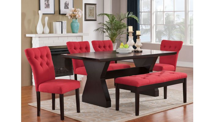 Deny Contemporary Style Dining Table Set