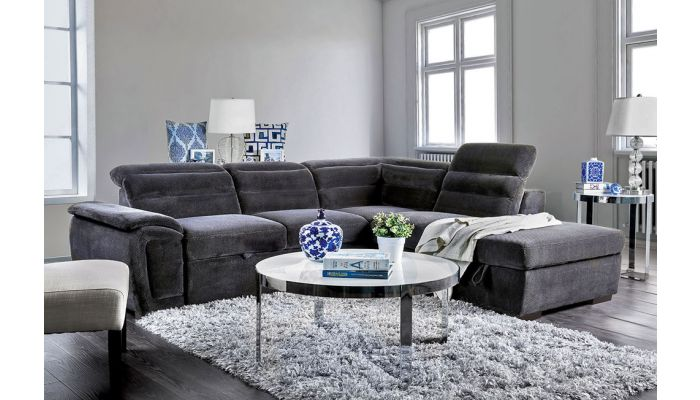 Devan Sectional With Pullout Sleeper
