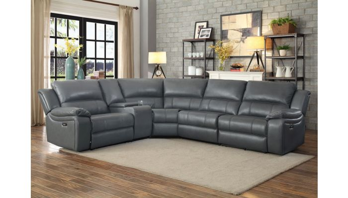 Emilio Power Recliner Sectional