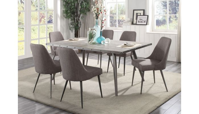 Admirable Erica Mid Century Modern Dining Table Set Interior Design Ideas Clesiryabchikinfo