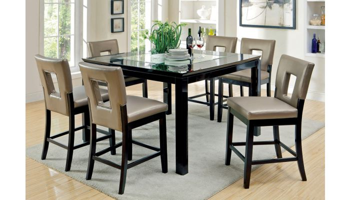 Atenna Square Counter Height Table Set