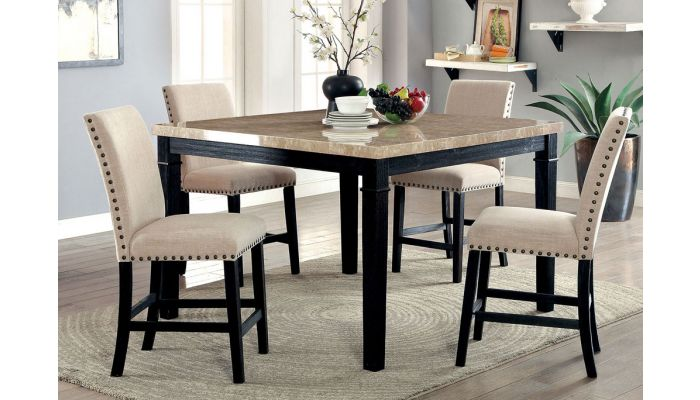 Eviouse Square Counter Height Table