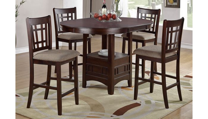 Evan Extendable Counter Height Table Set