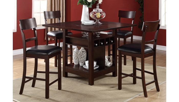 Abigail Counter Height Table Set