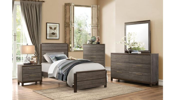 Fantine Rustic Finish Youth Bedroom