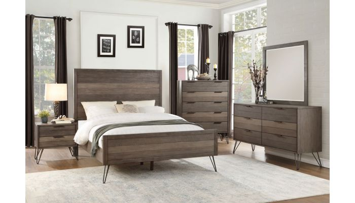 . Felica Modern Bedroom Furniture