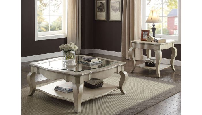 Fern Antique Finish Coffee Table