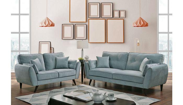 Fila Mid-Century Modern Style Sofa