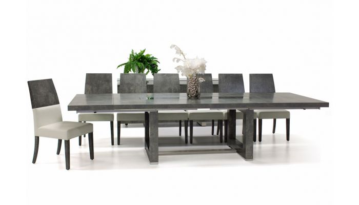 Fillmore Concrete Look Dining Table Set