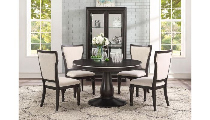Florentina Round Extendable Dining Table Set