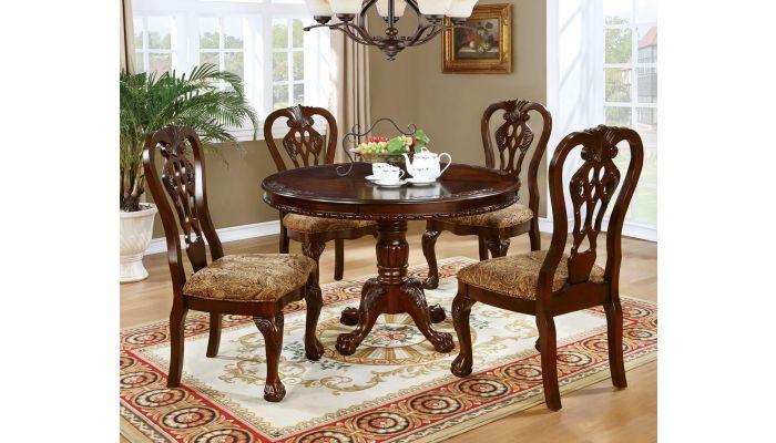 Florentina Round Top Dining Table Set