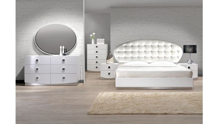 France Modern Style Bedroom Collection