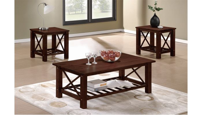 Galver Cottage Style Coffee Table Set