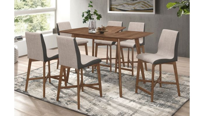 Garcet Counter Height Dining Table Set