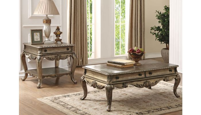 Gastone Coffee Table With Drawers