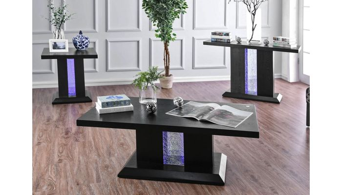 Geline LED Lights Coffee Table