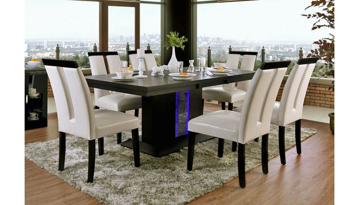 Geline Modern Dining Table Set, Modern Style Dining Room Table