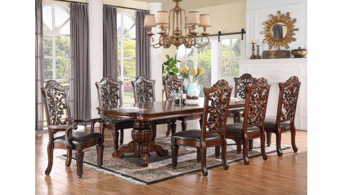 Geronimo Formal Dining Room Table Set