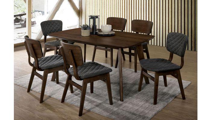 Gildyn Mid Century Modern Dining Table Set, Mid Century Modern Dining Room Table