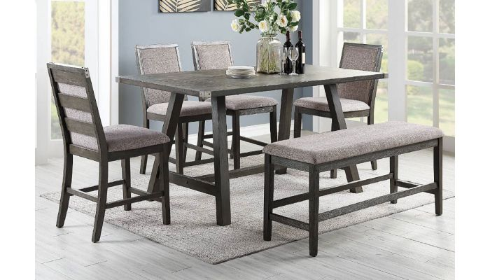 Godenza Industrial Pub Table Set