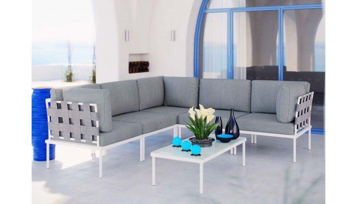 Harmony Patio Sectional Sofa Set