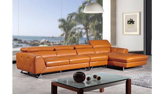Hera Modern Sectional Italian Leather