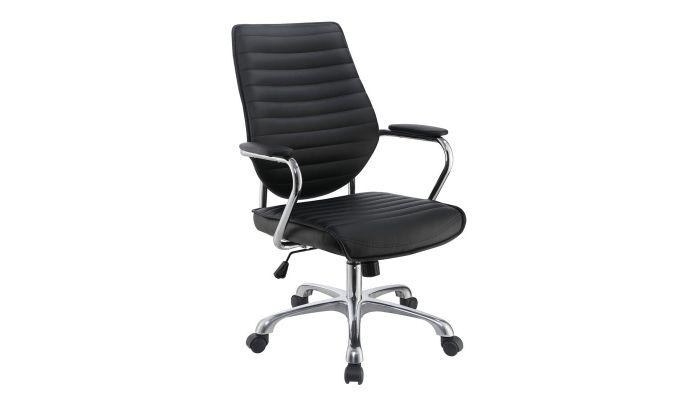 Hilda Modern Office Chair Black