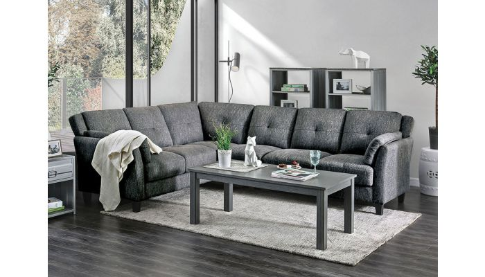 Howard Contemporary Sectional Sofa