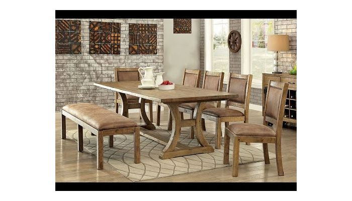 Gustavo Rustic Dining Room Table, Rustic Dining Room Table Sets