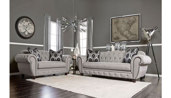 Hubbard Traditional Style Sofa