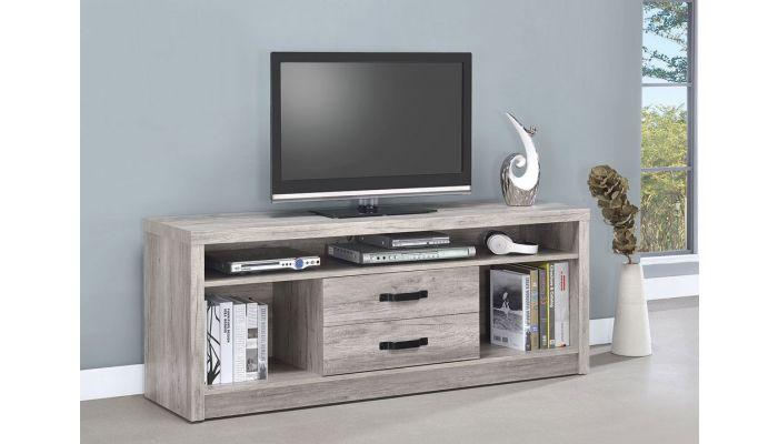 Hugo Rustic Grey TV Stand