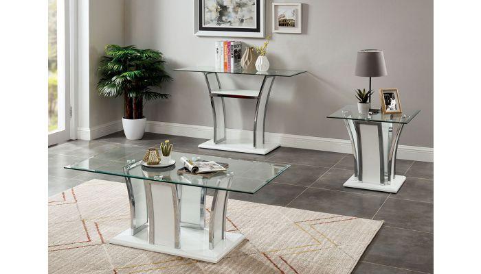 Hulo White Modern Coffee Table
