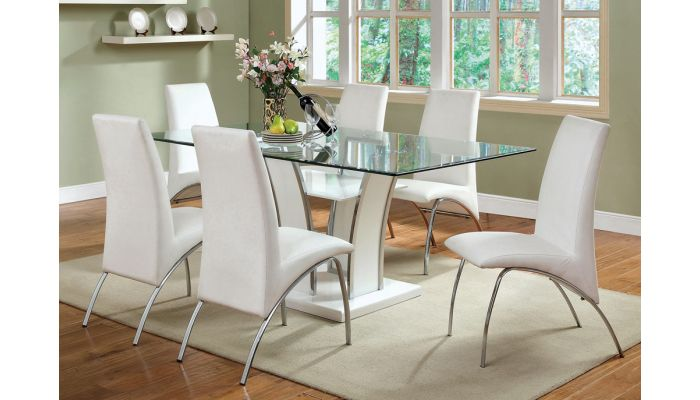 Hulo Modern Formal Dining Table Set, Modern Formal Dining Room Chairs