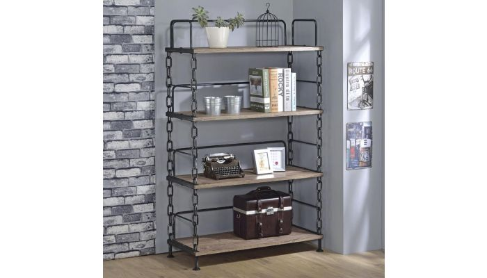 Pablo Industrial Style Bookshelf