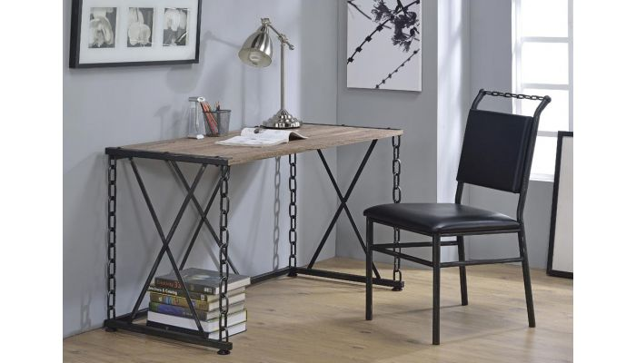 Pablo Industrial Style Writing Desk