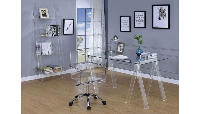 Invisible Modern Home Office Desk