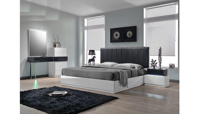 Ireland Modern Platform Bed Collection