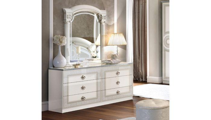 Aida White Italian Bedroom Furniture
