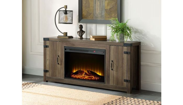 Ivana TV Stand With Fireplace