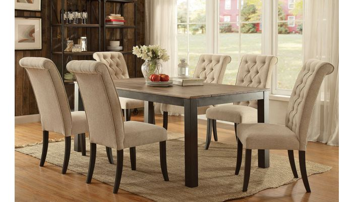 Jayar Transitional Dining Table Set